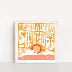 Paige Digital printable poster - Sun always shines