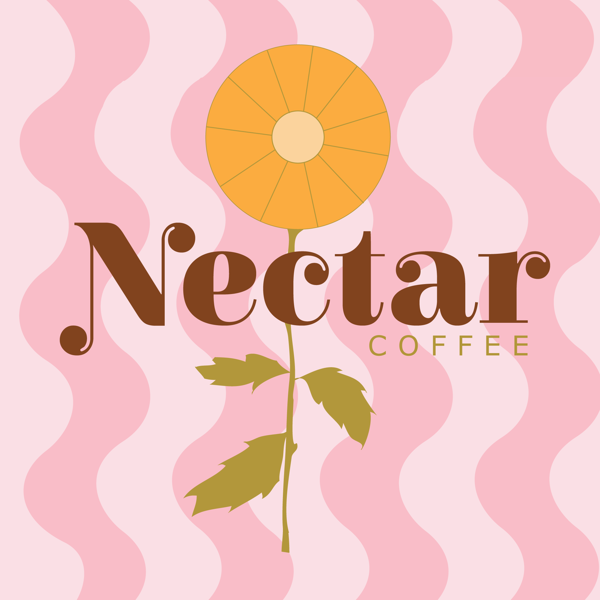 Paige Digital branding nectar coffee