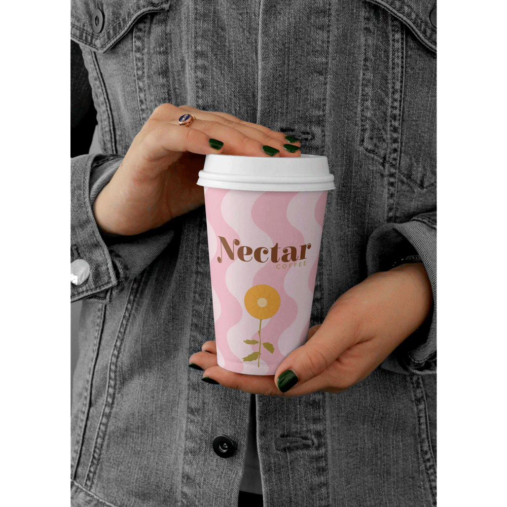 Paige-Digital-branding-Nectar-Coffee-Cup
