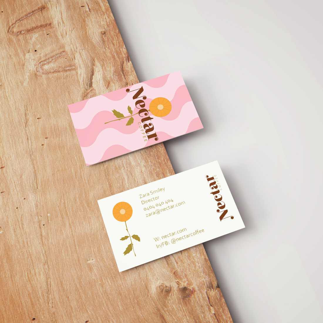 Paige-Digital-branding-Nectar-business-card