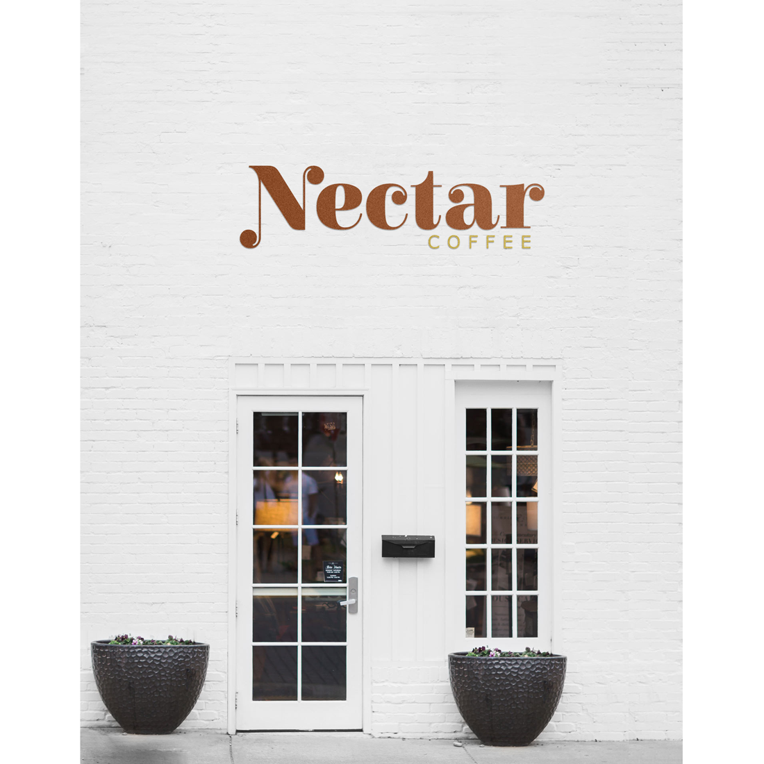 Paige-Digital-branding-Nectar-coffee-wall